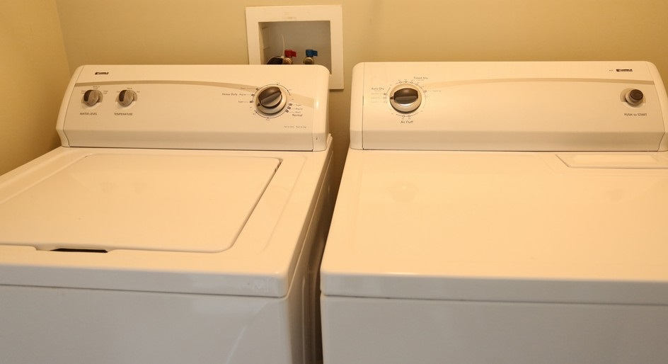 Laundry Area at The Waterview at Willowpoint Townhouses in Webster, NY