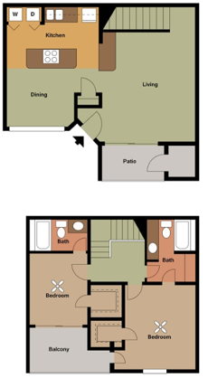 Waterford Landing - Floorplan - Alana l