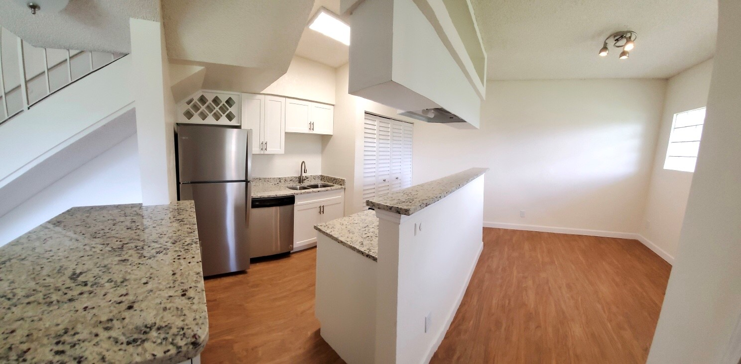 Kitchen at Waterford Landing Apartments in Miami, FL