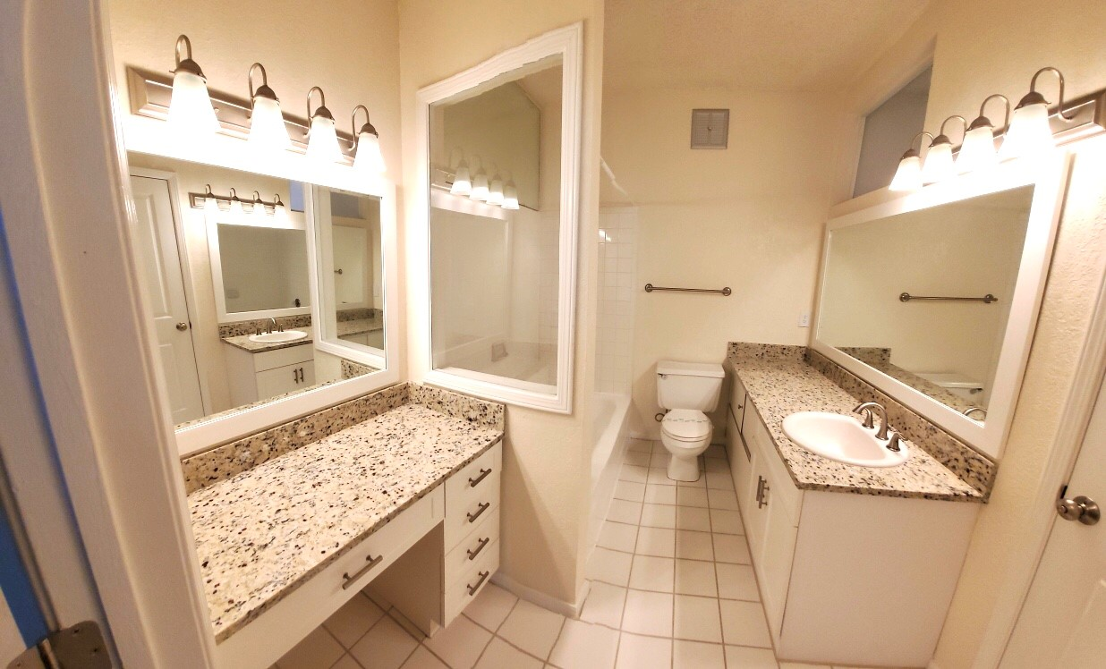 Bathroom at Waterford Landing Apartments in Miami, FL