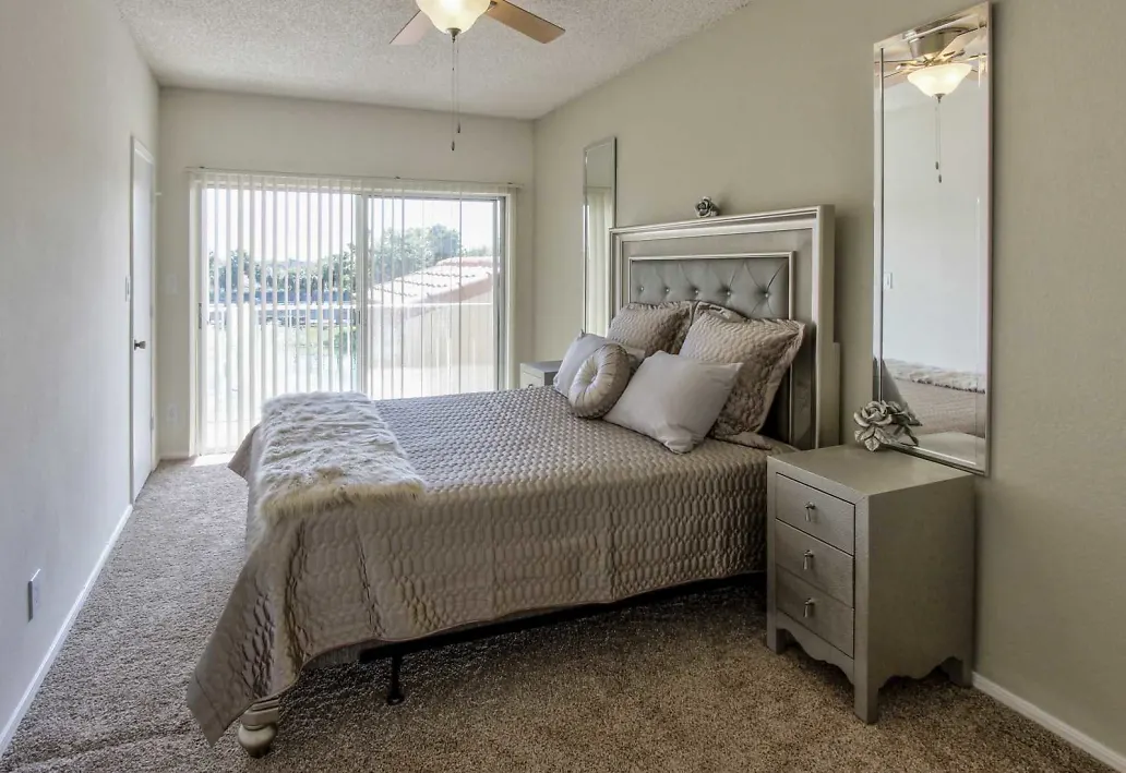 Natural Bedroom Lighting at Waterford Landing Apartments in Miami, FL