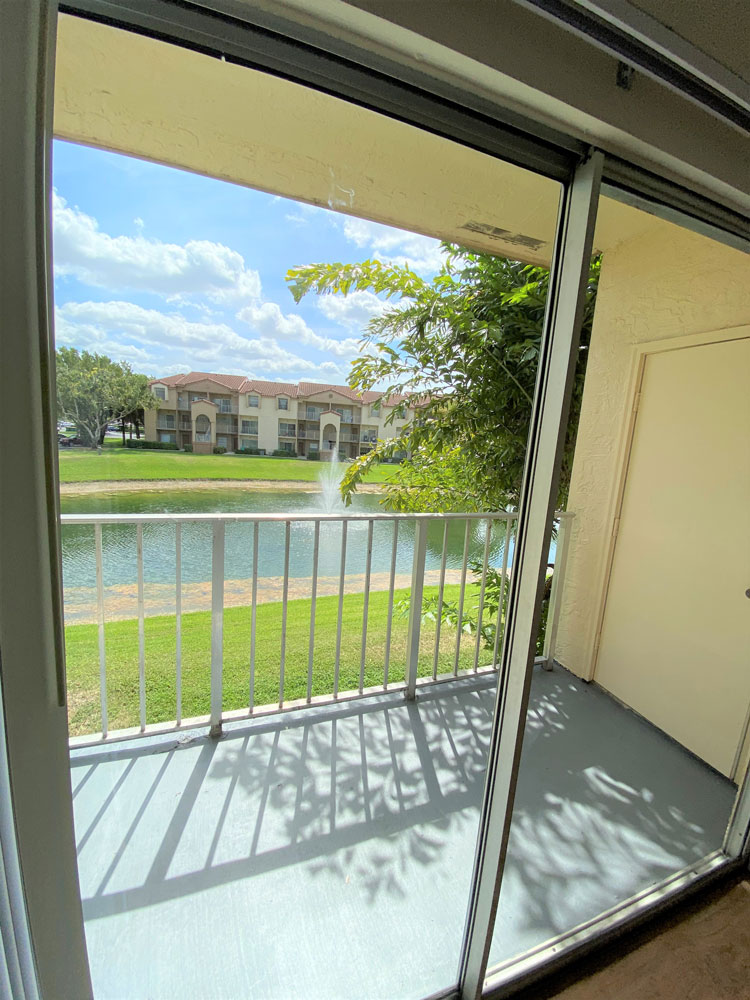 Private Balcony at Waterford Landing Apartments in Miami, FL