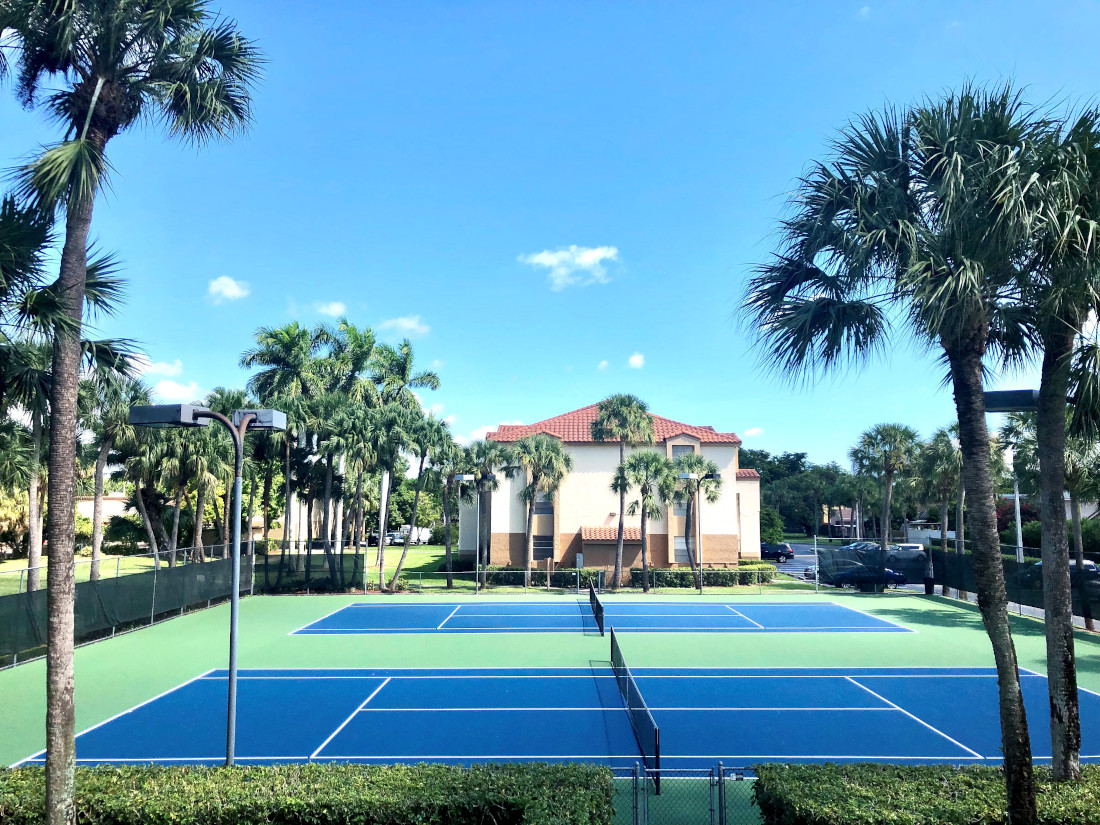 Tennis Court at Waterford Landing Apartments in Miami, FL