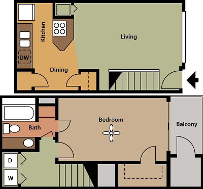 Floorplan - Hampton image