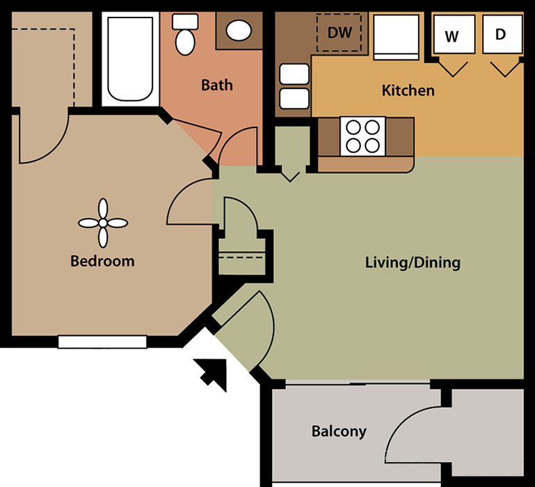 Floorplan - Cambridge image