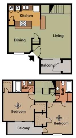 Floorplan - Woodbridge image