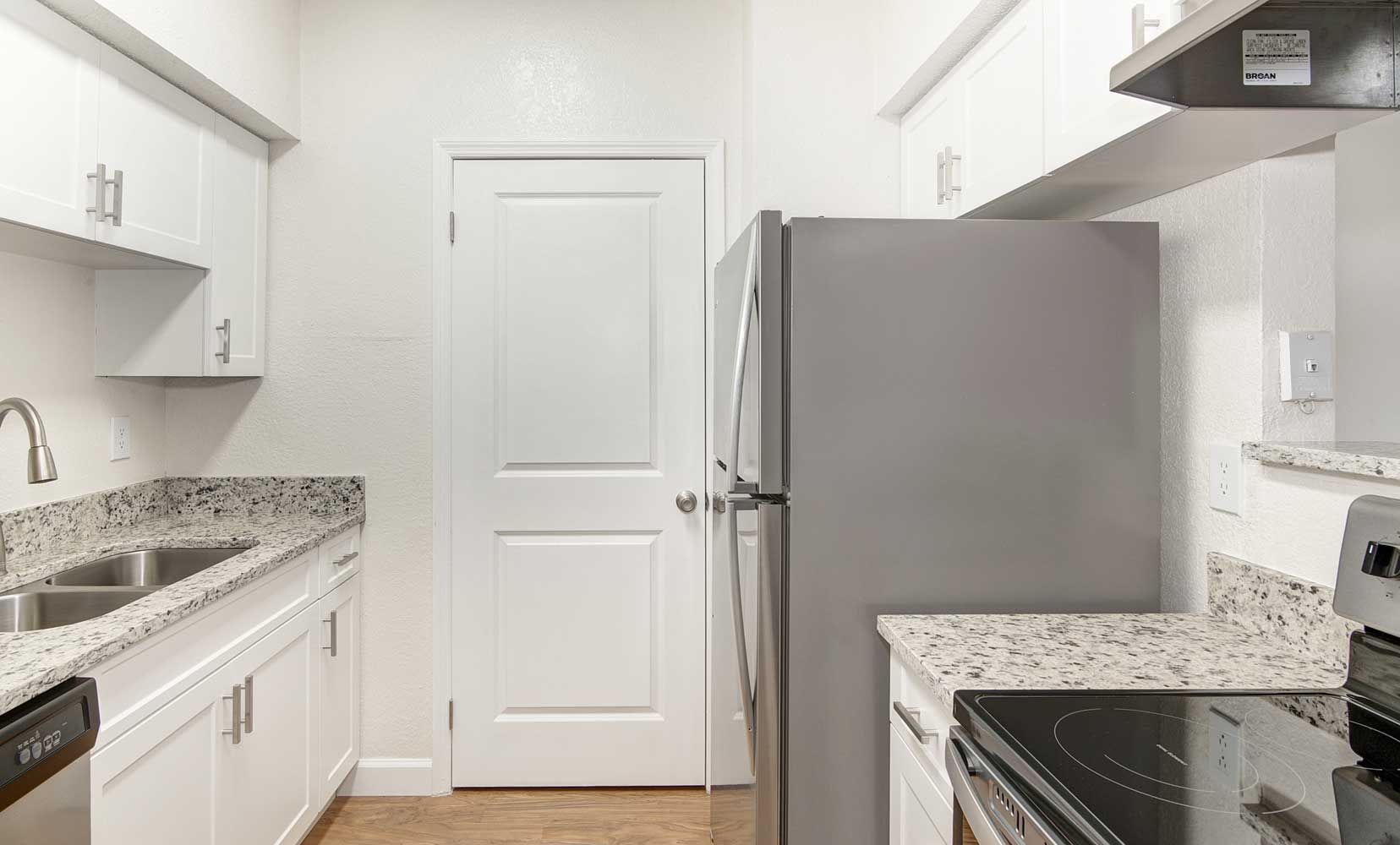 Granite countertops at Waterford Point Apartments in Miami, Florida