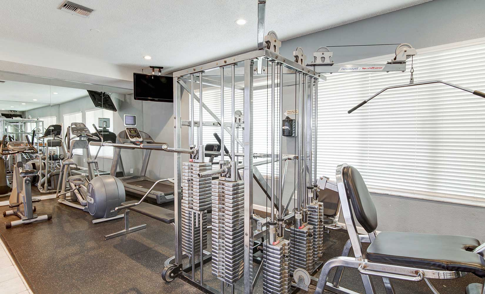 Fitness Center at Waterford Point Apartments in Miami, Florida