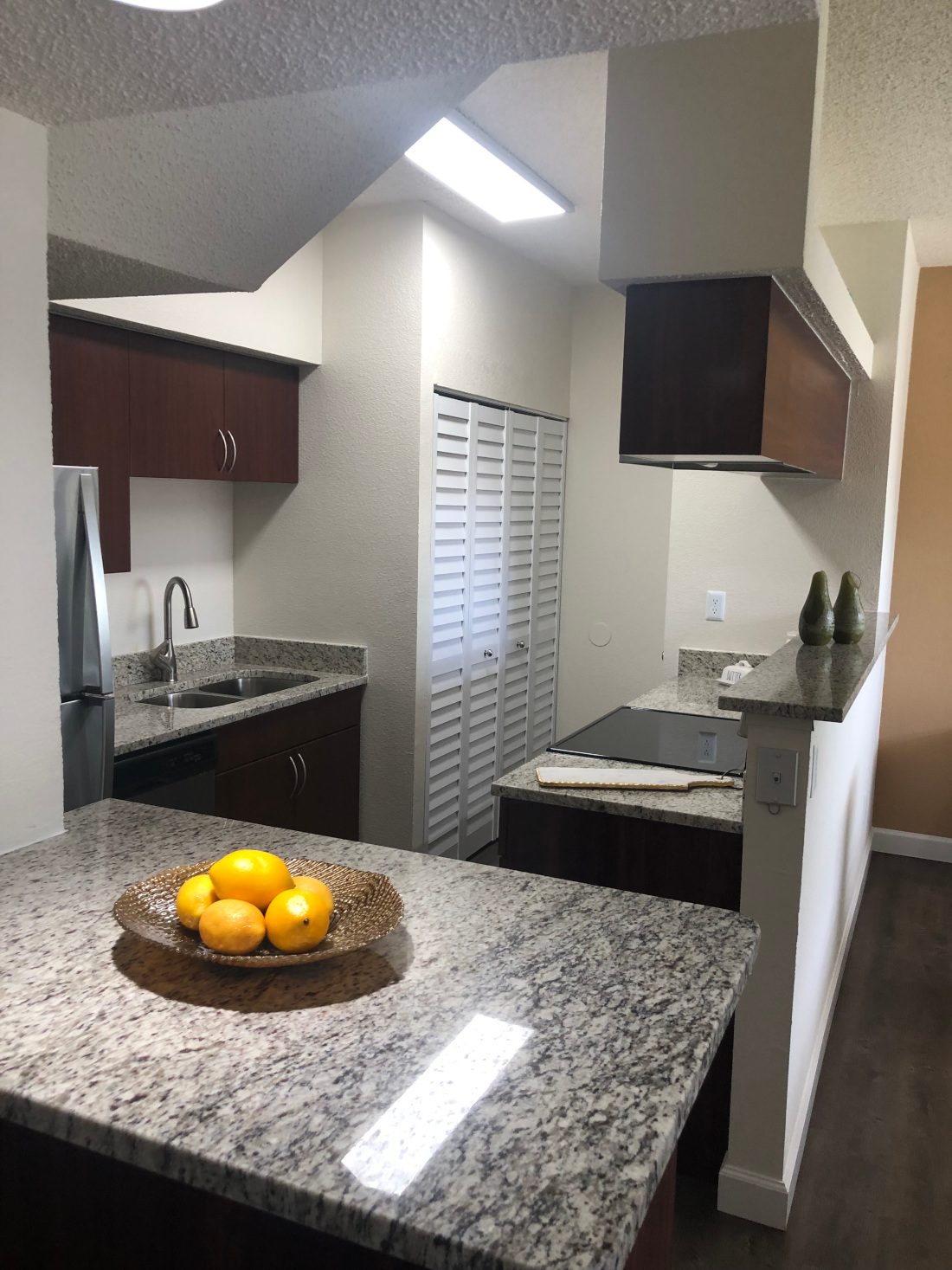Kitchen Counter top and sink at Waterford Point Apartments in Miami, Florida