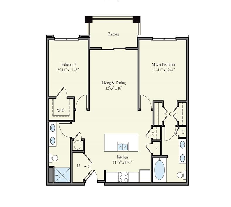Floorplan - Aberdeen image