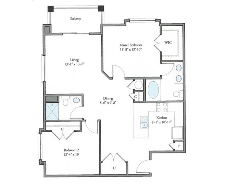 The Watermark - Floorplan - Ayr