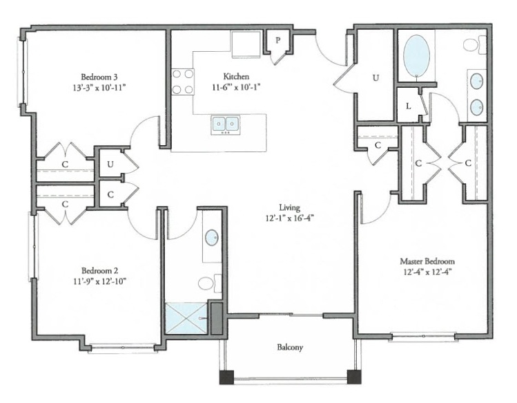Floorplan - Brighton image