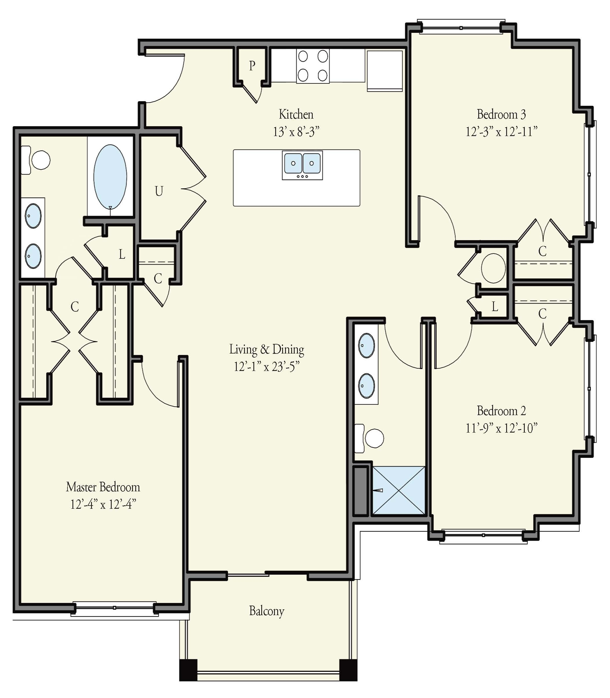 Floorplan - Edinburg image