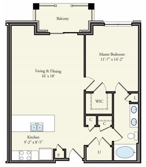 Floorplan - Inverness image