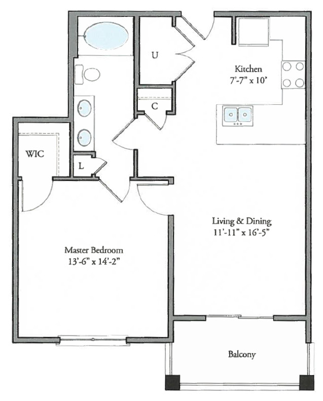 The Watermark - Floorplan - Lanark