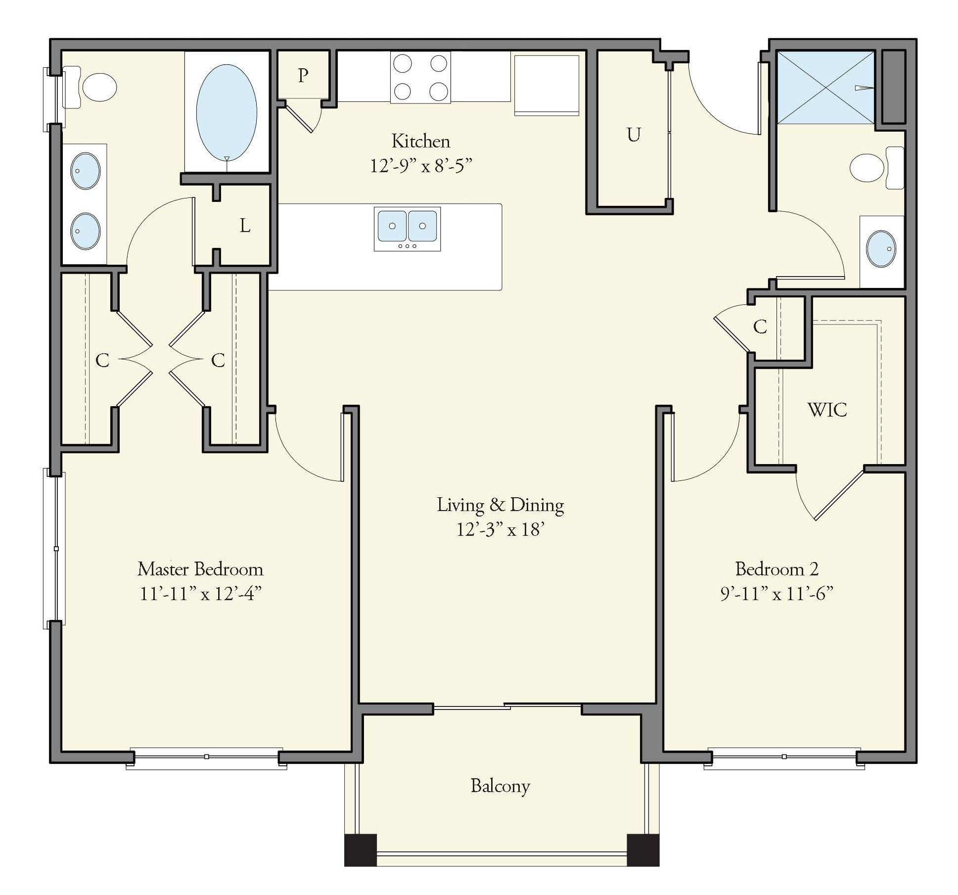 Floorplan - Shelly image
