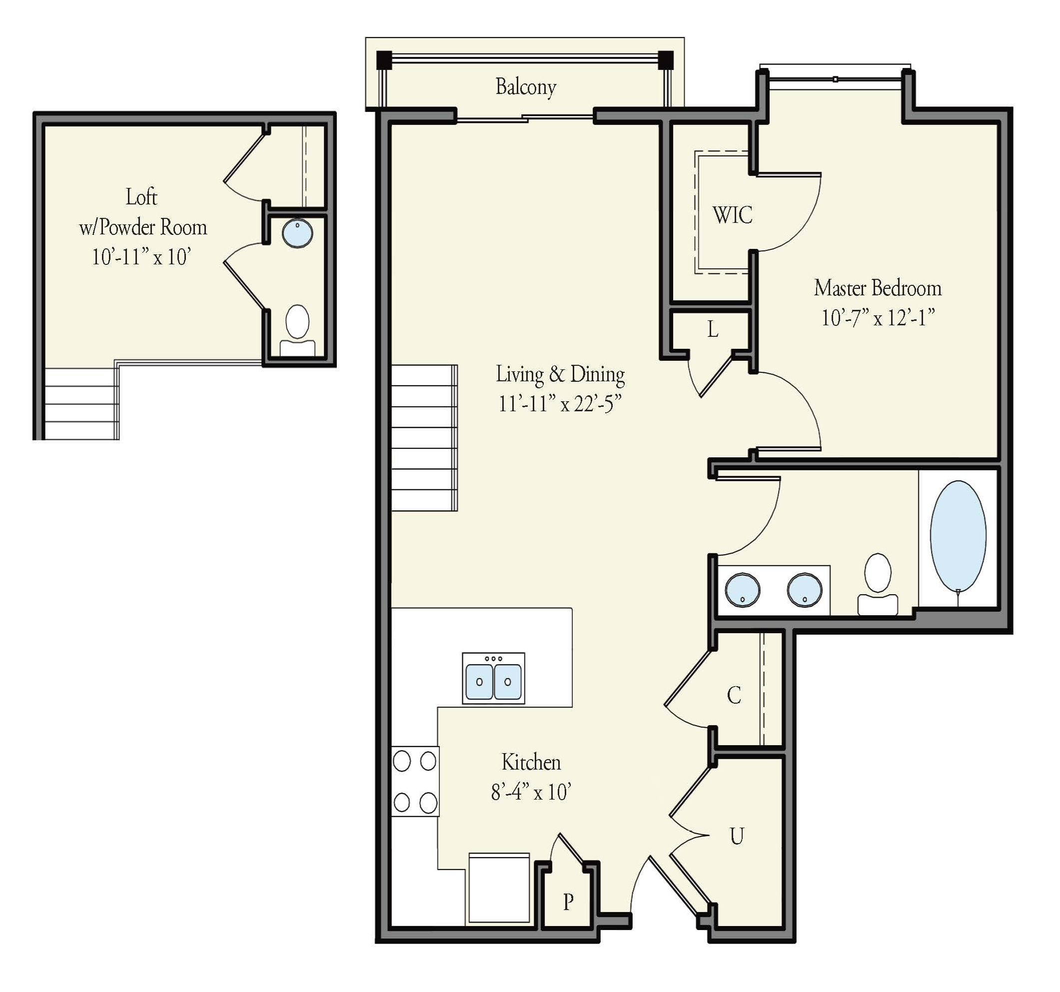 The Watermark - Floorplan - St. Andrews