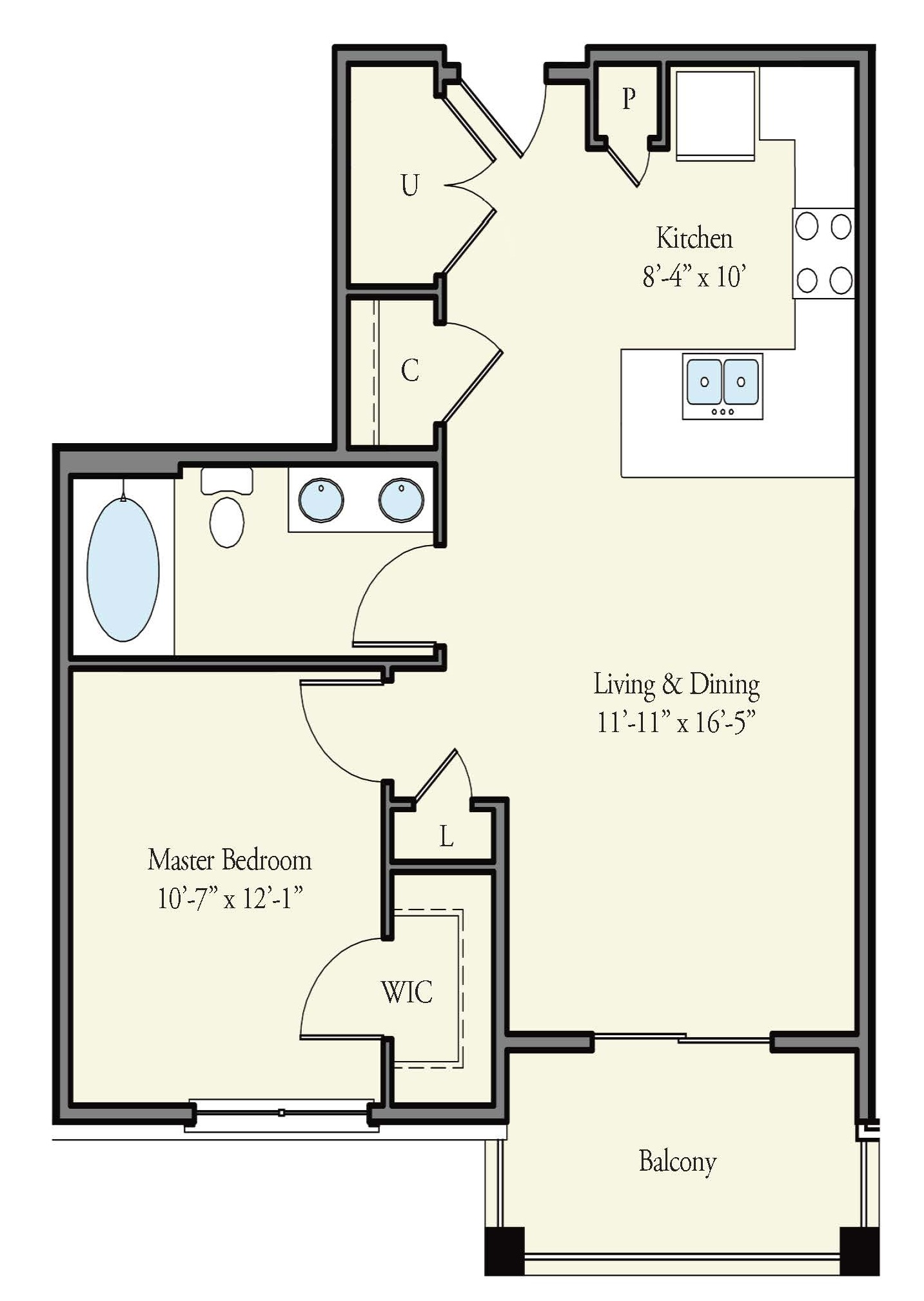 Floorplan - Stirling image