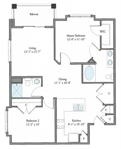 The Watermark - Floorplan - Sutherland