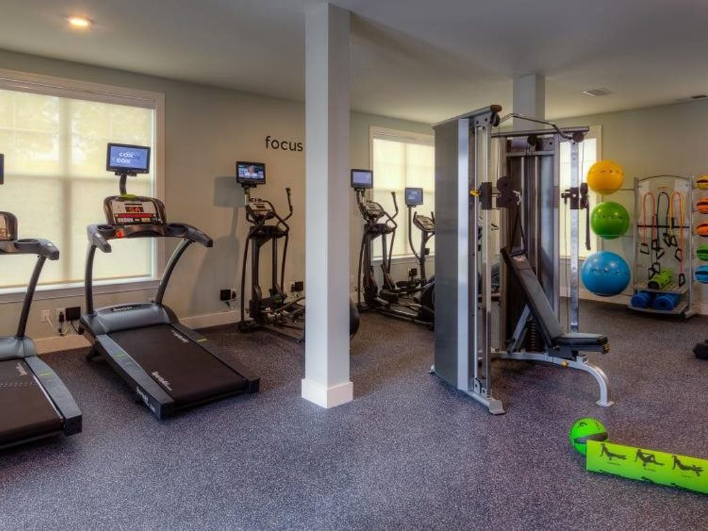 Fitness Center at The Watermark Apartments in Norfolk, Virginia