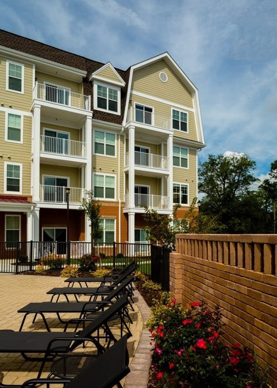 Gated Community at The Watermark Apartments in Norfolk, Virginia