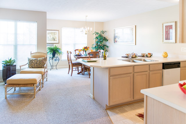 Open Floor Plans at Webster Woods Apartments in Webster, New York