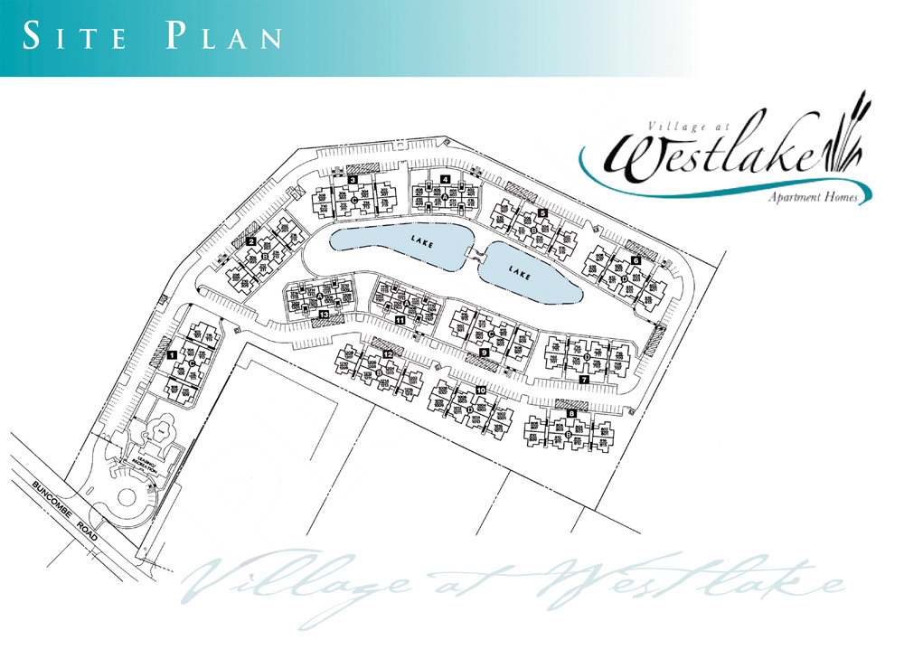 Village at Westlake Apartment Homes Site Plan