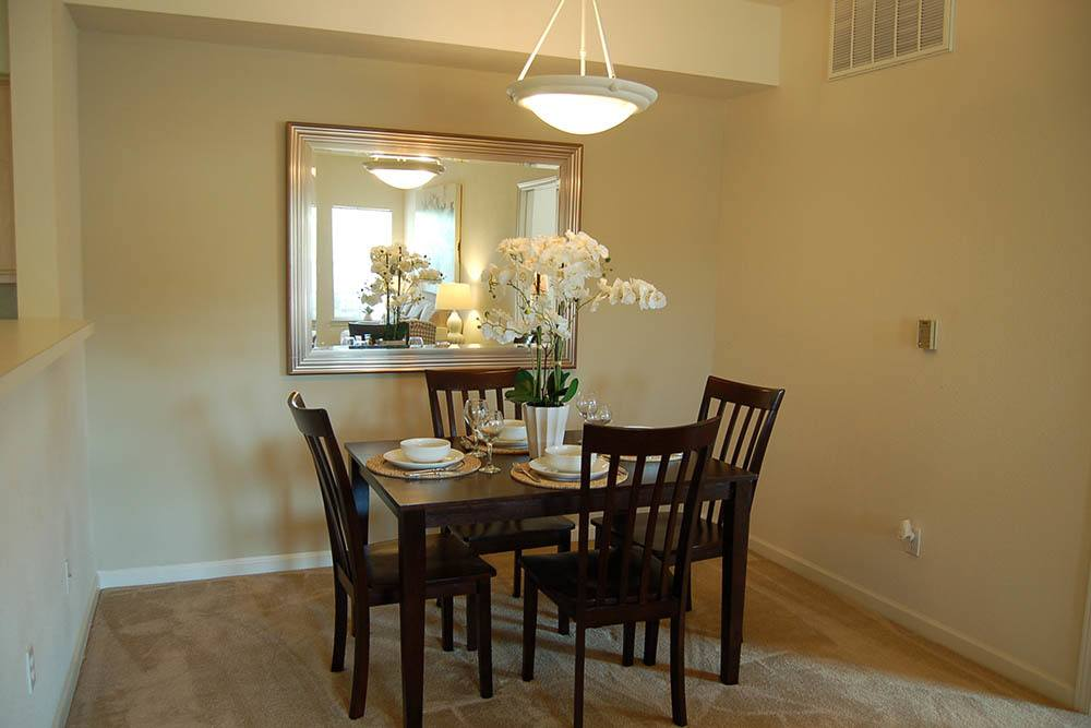 Dining Area at Village at Westlake Apartments in Shreveport, Louisiana