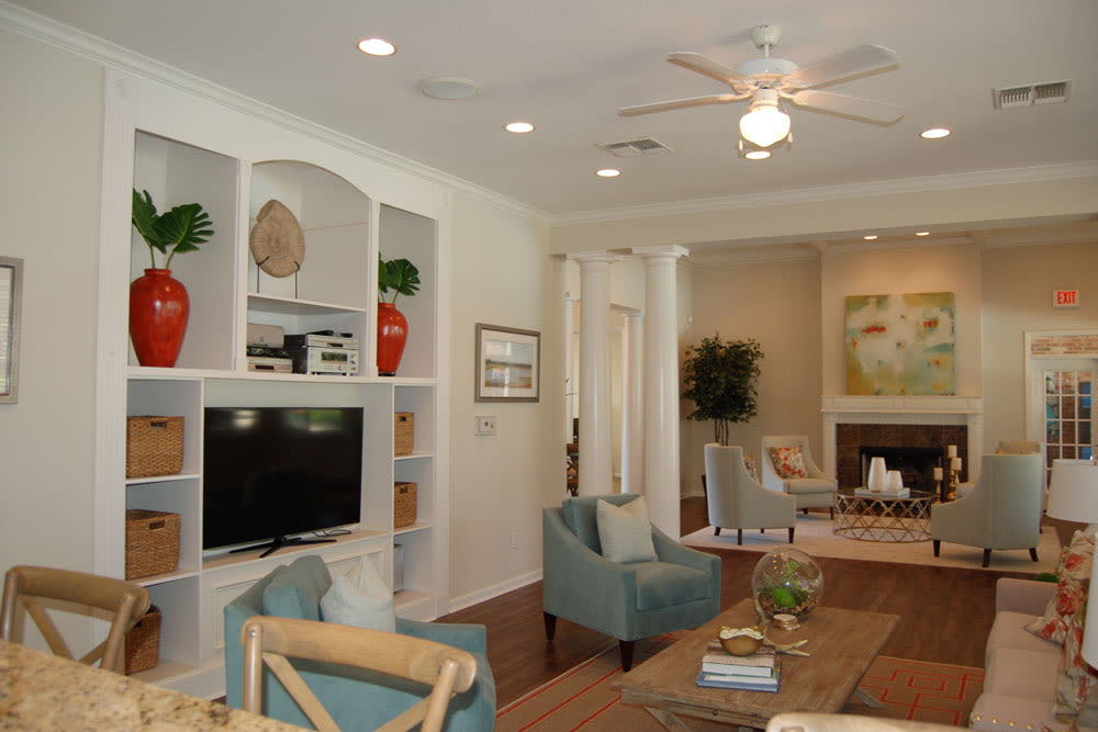 Ceiling Fans at Village at Westlake Apartments in Shreveport, Louisiana