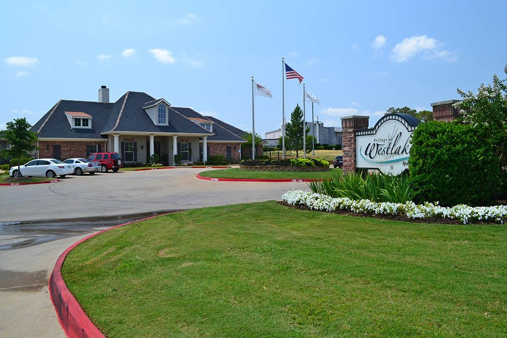 Beautiful Scenery at Village at Westlake Apartments in Shreveport, Louisiana
