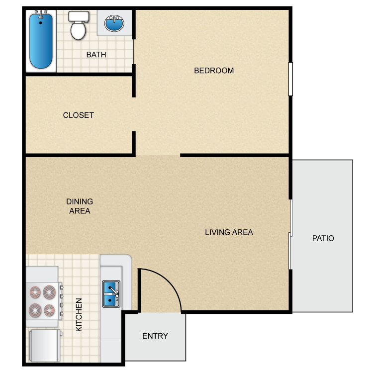 Westmount at Summer Cove - Floorplan - A1