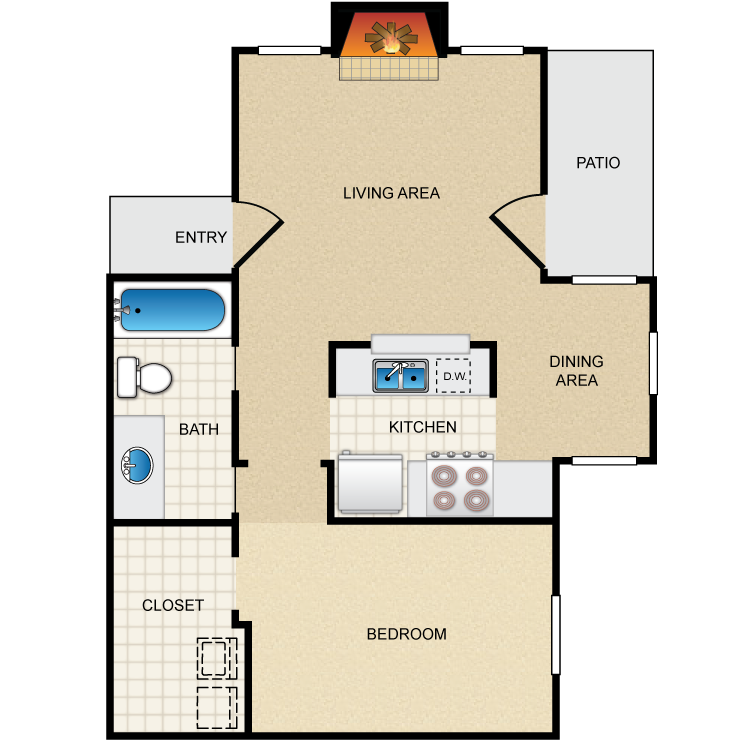 Westmount at Summer Cove - Floorplan - A2