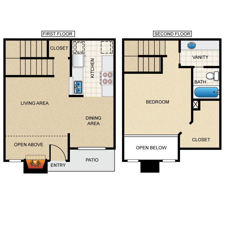 Westmount at Summer Cove - Floorplan - A3