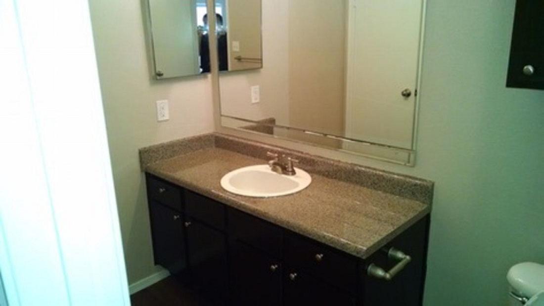 Large Bathrooms at Westmount at Summer Cove Apartments in Houston, TX