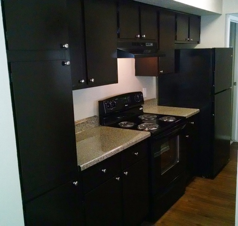 Ample Kitchen Cabinet Space at Westmount at Summer Cove Apartments in Houston, TX