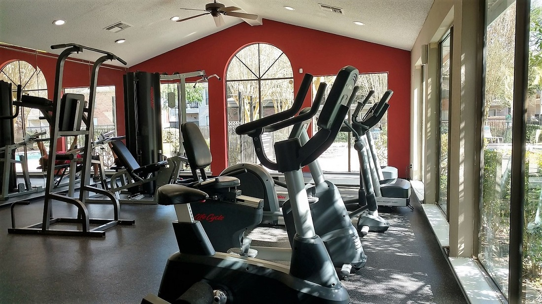 Fitness Center at Westmount at Summer Cove Apartments in Houston, TX