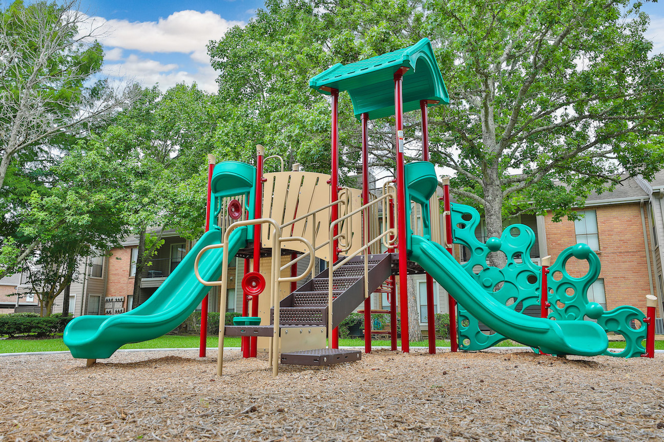 Children's Playground at Westmount at Summer Cove Apartments in Houston, TX