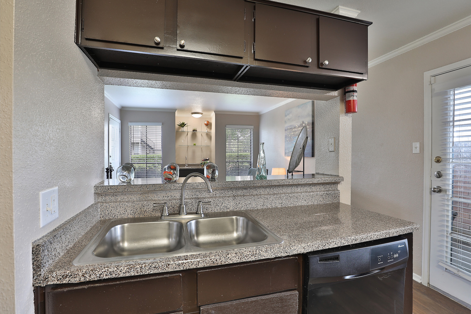 Granite Countertop at Westmount at Summer Cove Apartments in Houston, TX