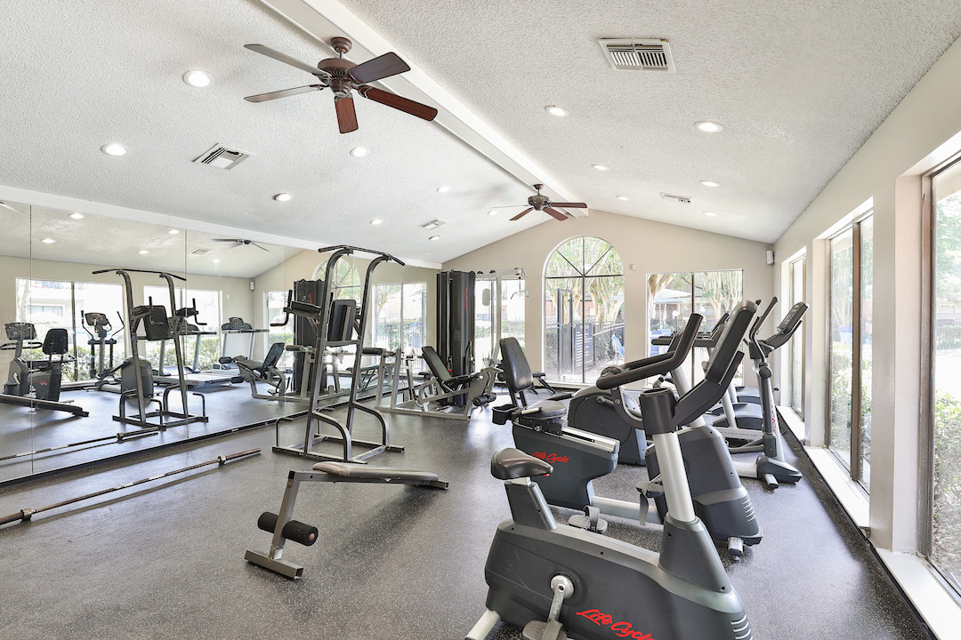 Cardio Equipment at Westmount at Summer Cove Apartments in Houston, TX