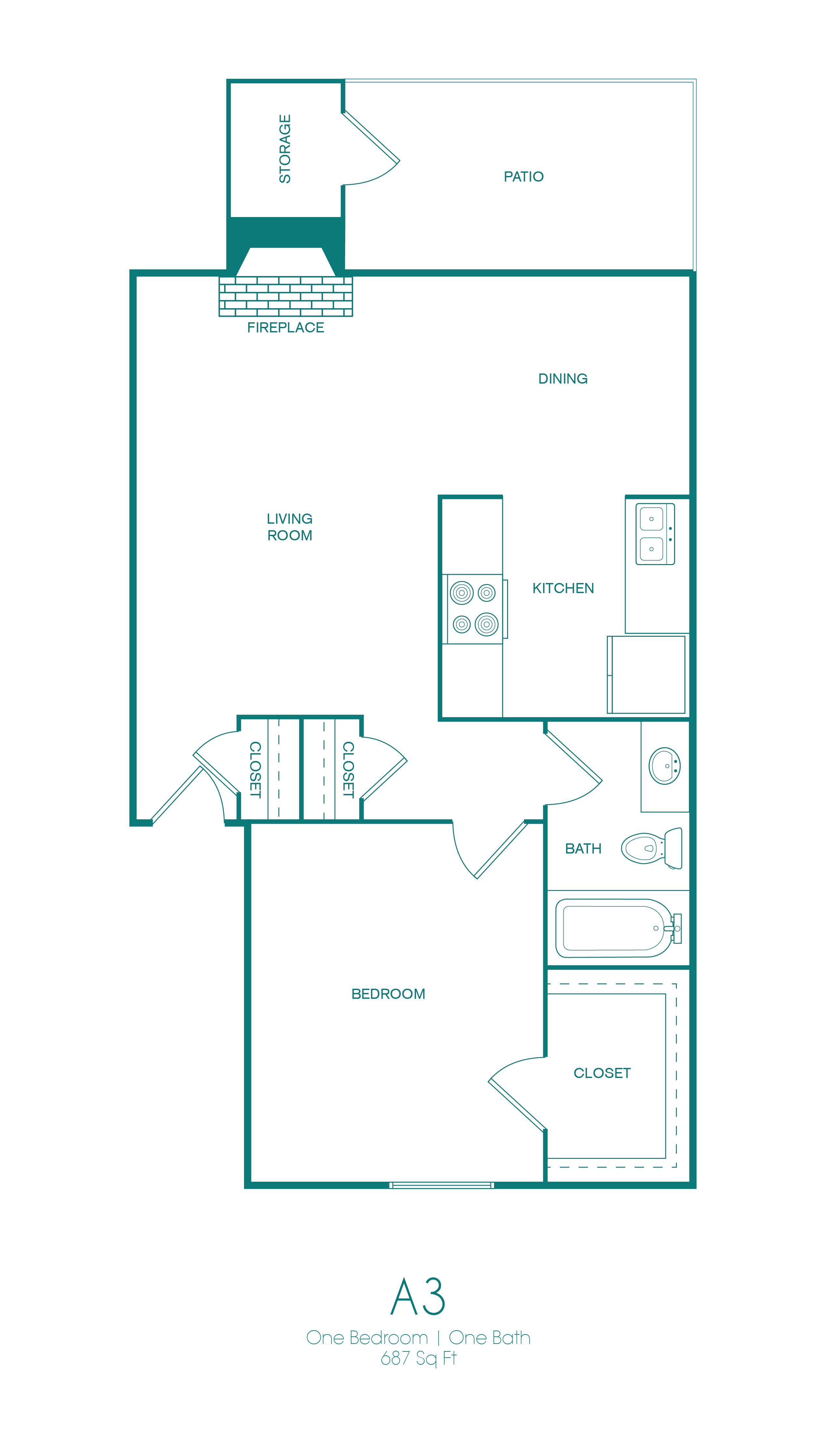 Westmount at Copper Mill - Floorplan - A3