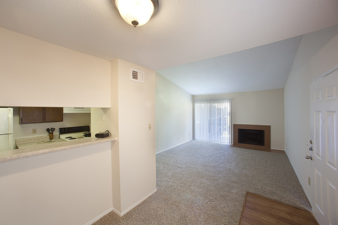 Open Living Layout at Westmount at Copper Mill Apartments in Houston, Texas