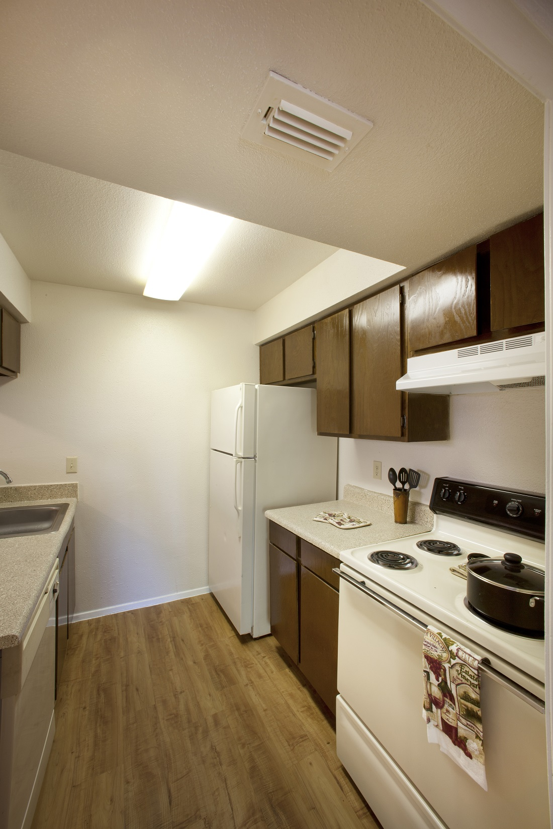 Spacious Kitchens at Westmount at Copper Mill Apartments in Houston, Texas
