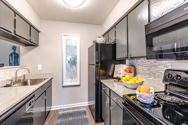 Stainless Steel Appliances at Westmount at Copper Mill Apartments in Houston, Texas