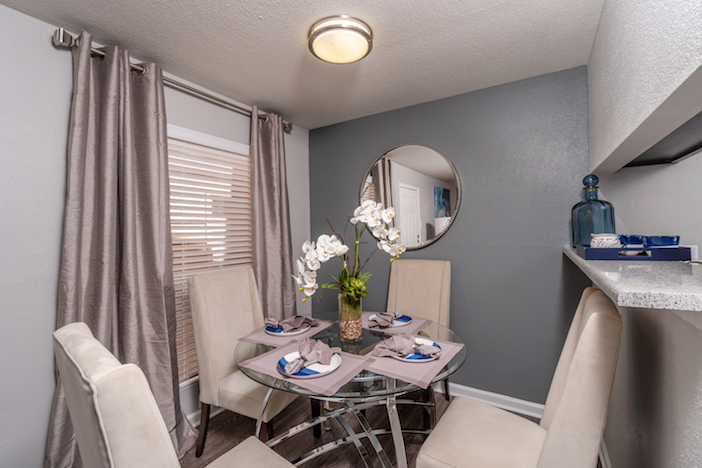 Attached Dining Area at Westmount at Copper Mill Apartments in Houston, Texas