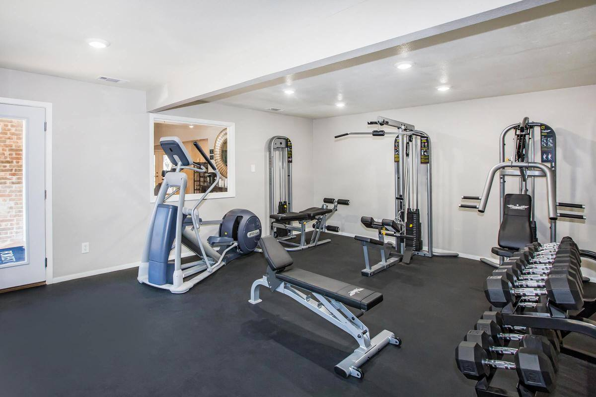 Fitness Center at Westmount at Forest Oaks Apartments in Arlington, TX