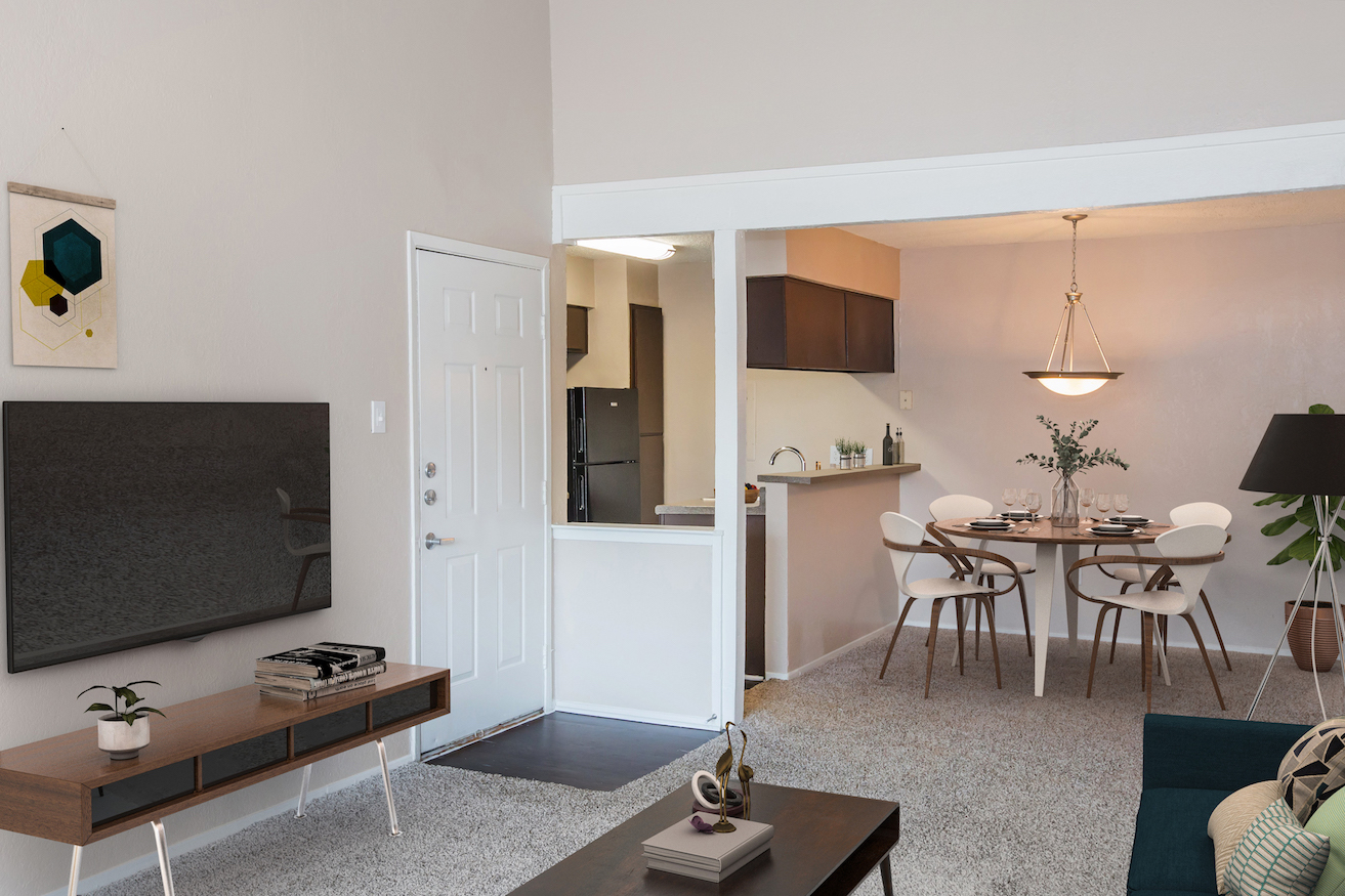 Open Floor Plans at Westmount at Forest Oaks Apartments in Arlington, TX