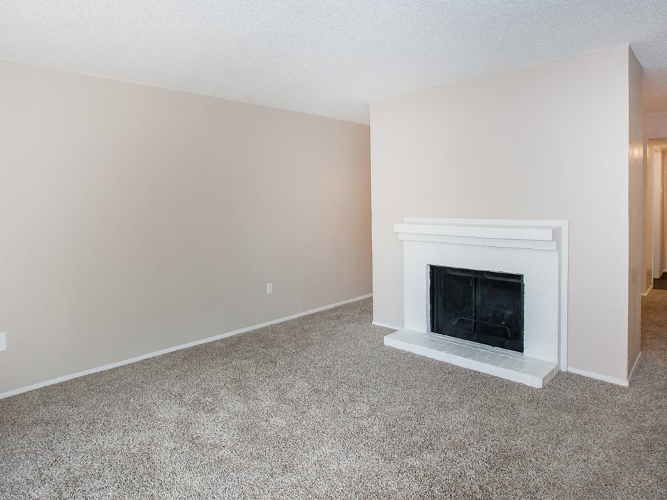 Fireplace at Westmount at Forest Oaks Apartments in Arlington, TX