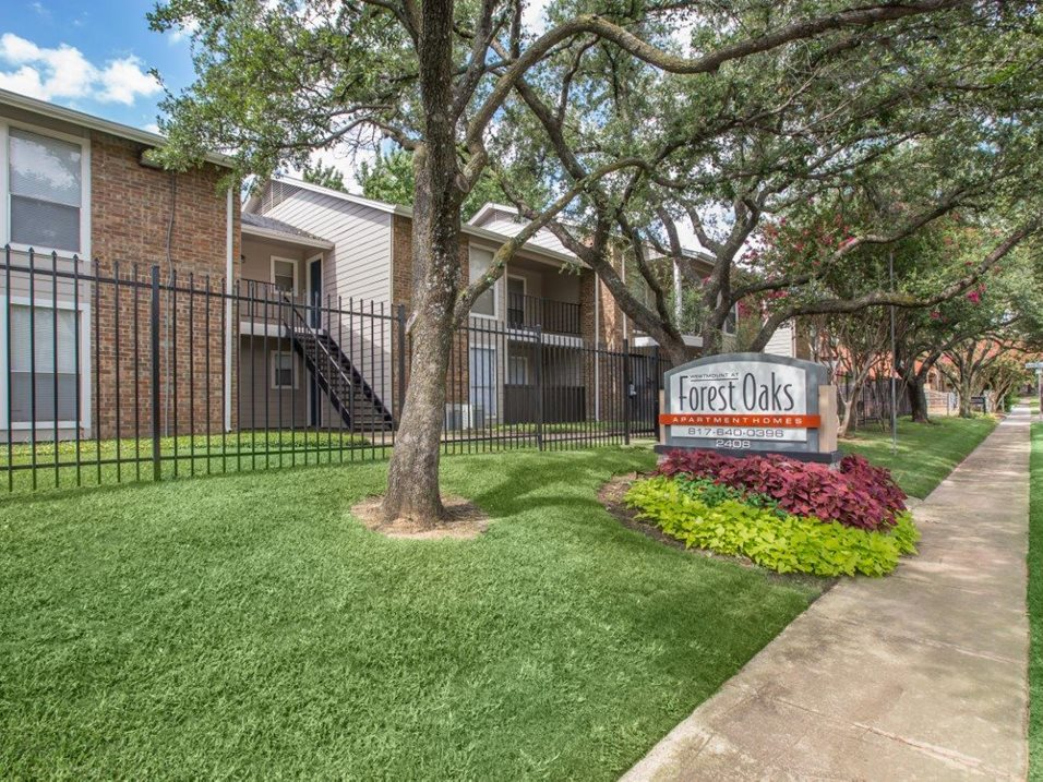 Gated Community at Westmount at Forest Oaks Apartments in Arlington, TX