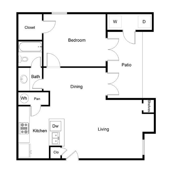 Westmount at River Park - Floorplan - A2