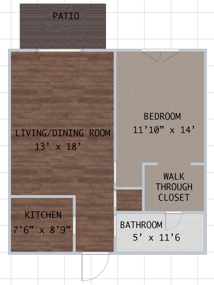 Informative Picture of EMBASSY 1 Bedroom- Available NOW Located at Embassy Apartments